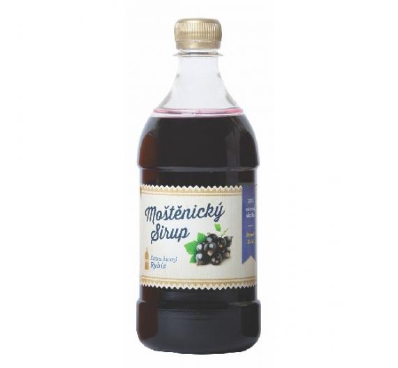 Sirup Moštěnický 0,7l - černý rybíz