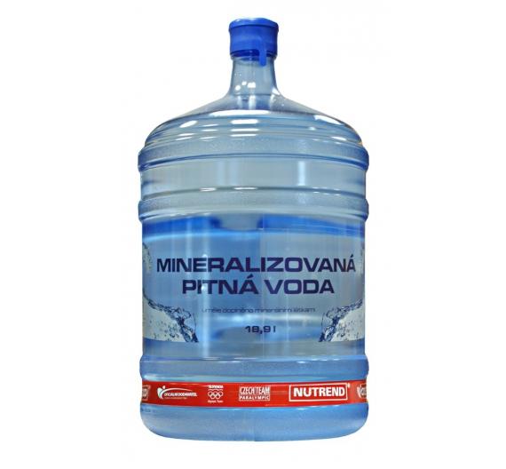 Mineralizovaná pitná voda 18,9l Nutrend