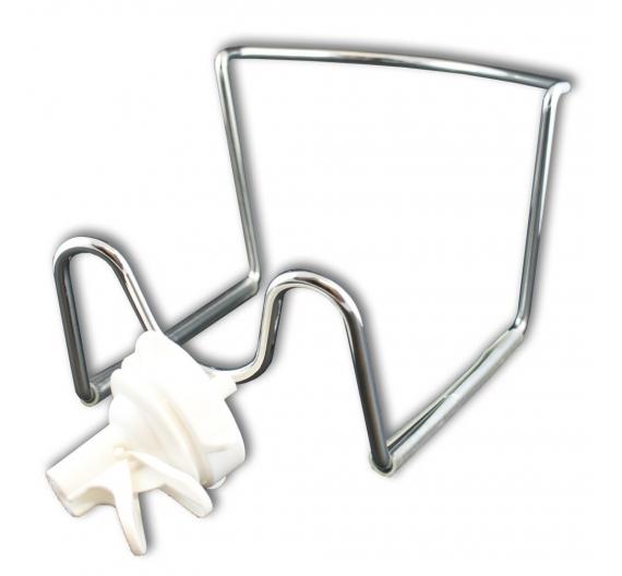 Držák - stojan na barel s ventilem- DOČASNĚ VYPRODÁNO