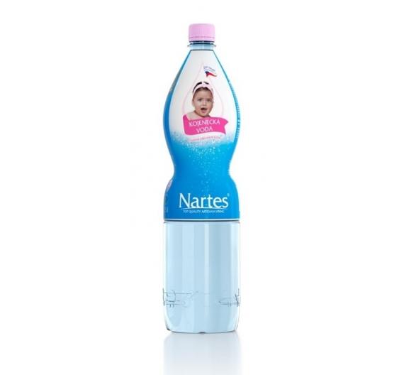 Kojenecká voda 1,5l - balení 6 kusů